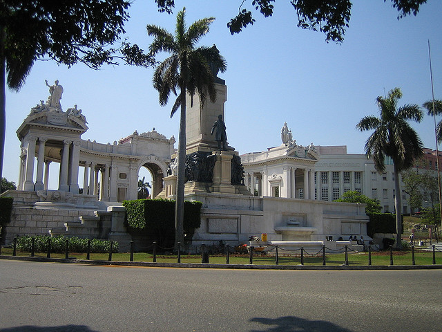 Hospital and Monument in Havana