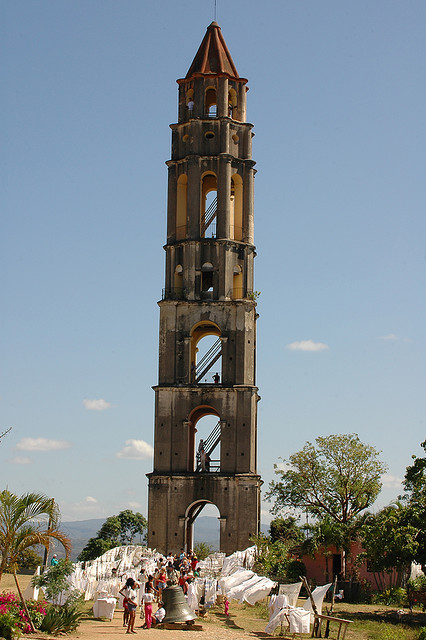 tower in the Valle de los Ingenios,