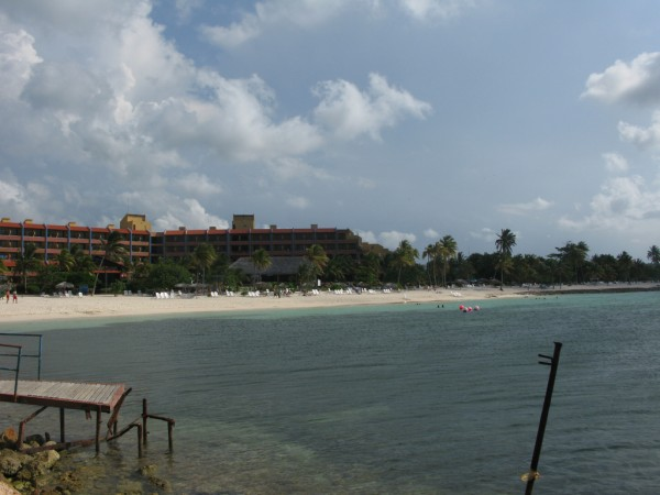 Hotels on the beach of Guardalavaca, photo by jmerelo/Flickr
