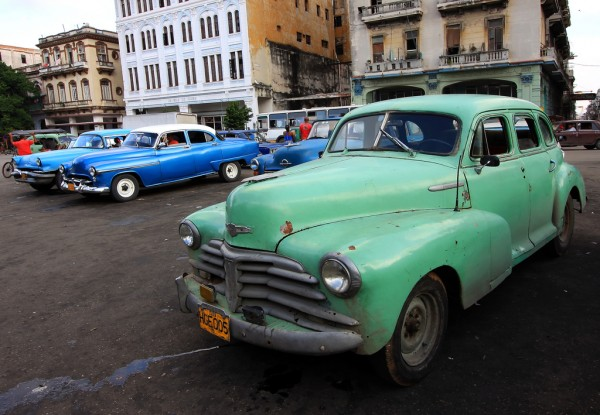 Taxis in Havana Robin Thom/Flickr