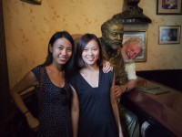 At the El Floridita, with Hemingway's brother kudumomo/Flickr