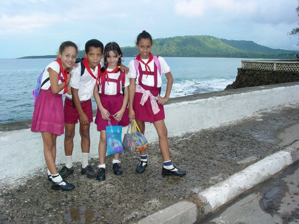 Kids at the Malecon of Baracoa Adam Jones, Ph.D. - Global Photo Archive/Flickr