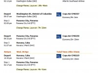 Havana flight with Copa Air under $1,600 r/t